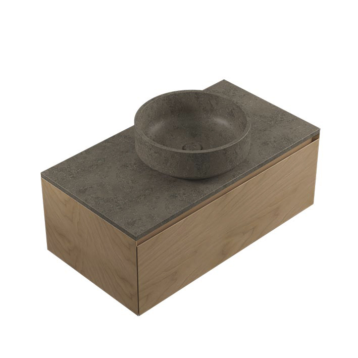 CONJUNTO KARON CIRCLE GREY STONE-WARM