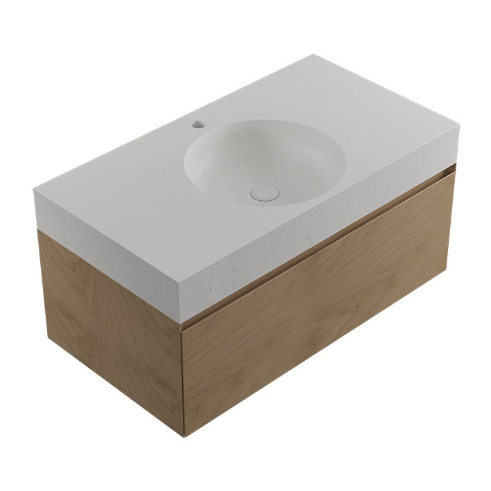 KARON CIRCLE COUNTERTOP PERSIAN WHITE-WARM