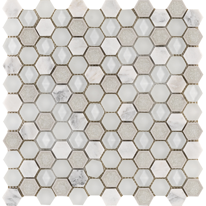 AURA HEXAGON WHITES