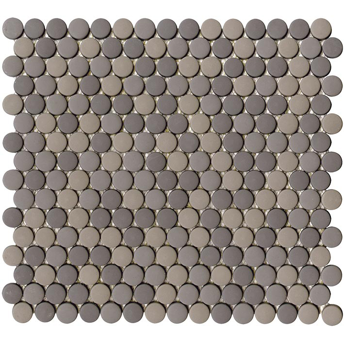 GLAZE DOTS GREYS MATT