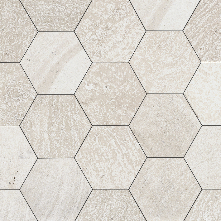 AMSTERDAM HEXAGON BEIGE