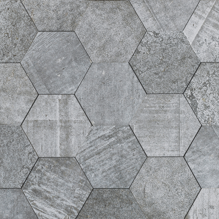 AMSTERDAM HEXAGON GREY