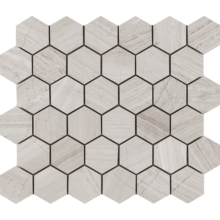 ESSENTIAL HEXAGON SILVER WOOD