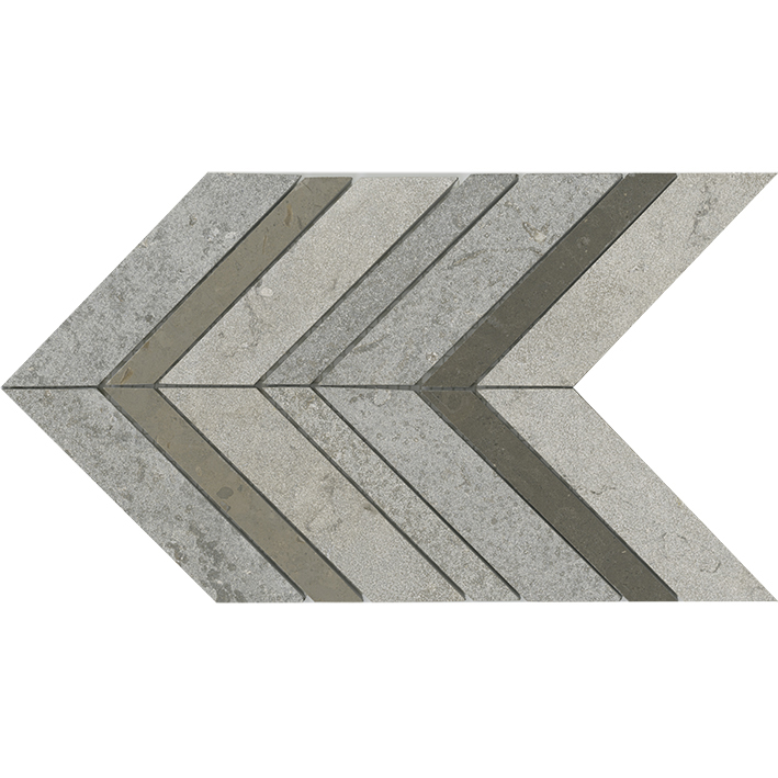 WORLD AMSTERDAM CHEVRON GREY