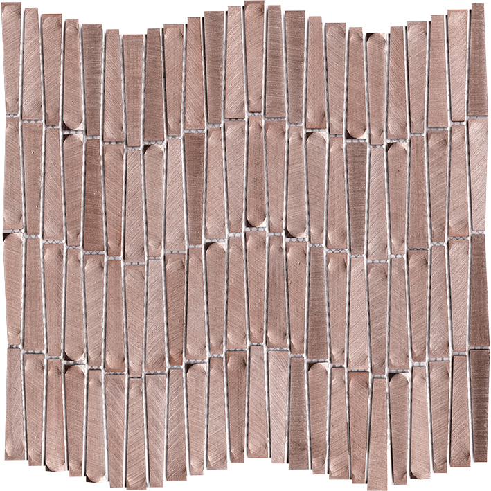 GRAVIY ALUMINIUM WAVE ROSE GOLD