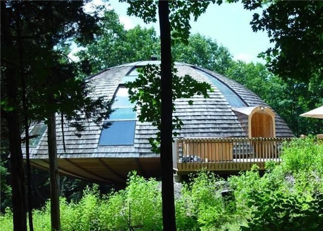 Casa giratoria de madera