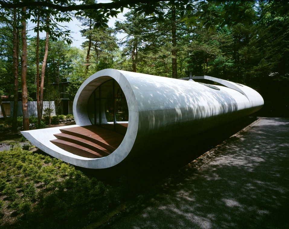 Arquitectura de madera natural