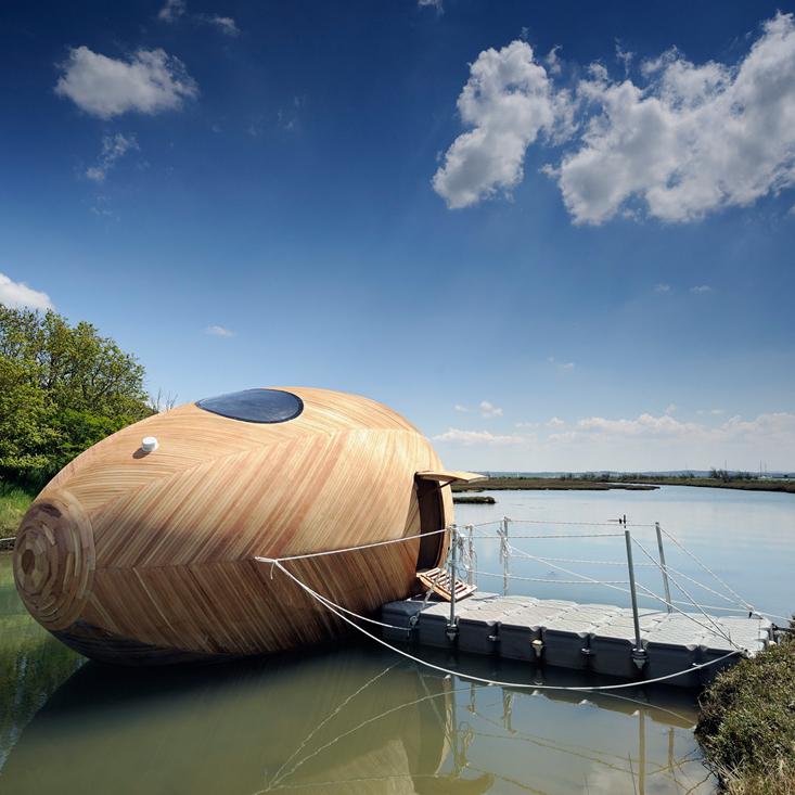 Exbury, wooden micro living