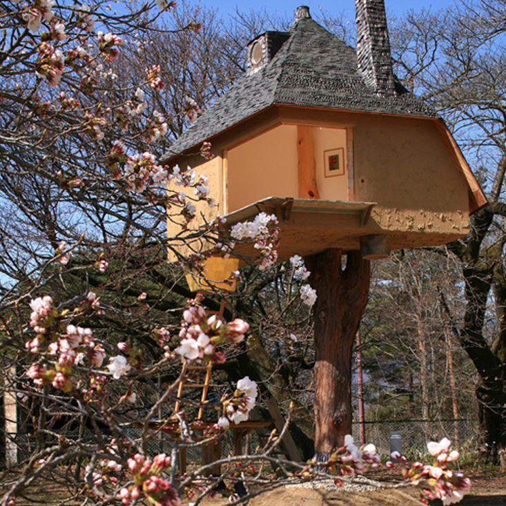 Traditional Wooden Tea House