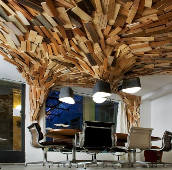 Oficinas de madera