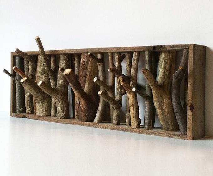 Decoración con madera reciclada