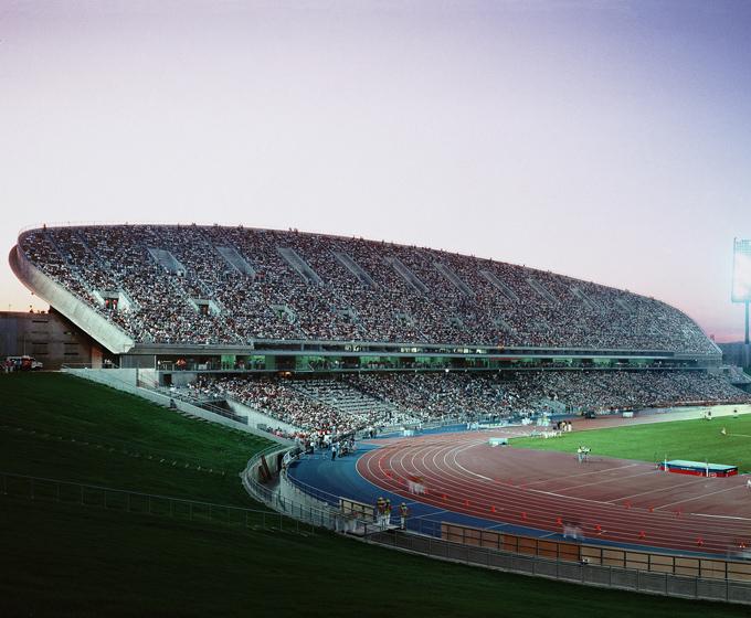 Peineta stadium Madrid