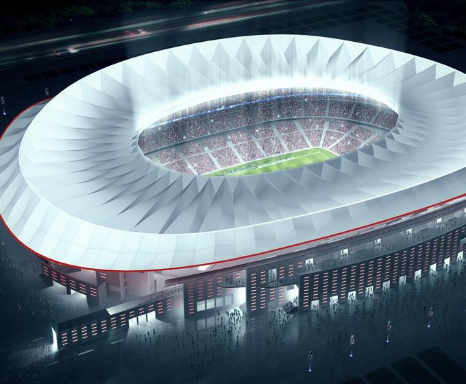 Atletico Madrid Stadium