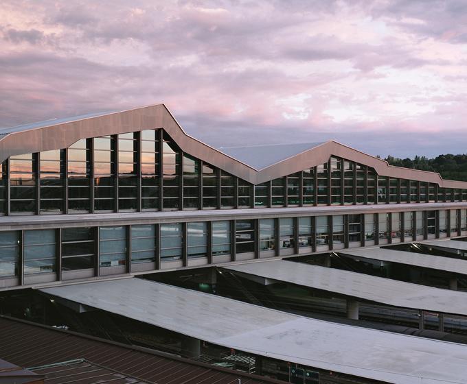 Estación tren Basilea