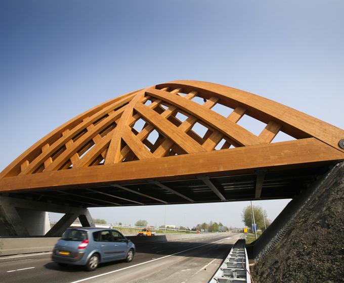 bridge made of wood