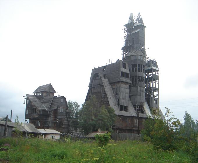 La casa de madera más alta