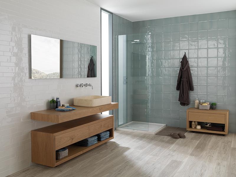parquet madera natural para baños