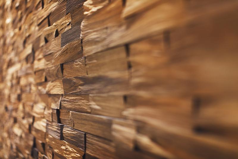 revestimiento natural de madera