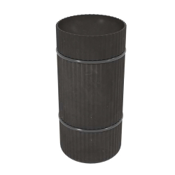 COLUMN STAND DARK BLACK