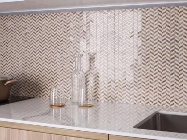 Mosaico Weft Beige