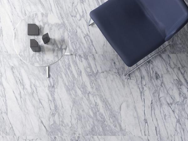 Piedra Natural Blanco Carrara Pulido