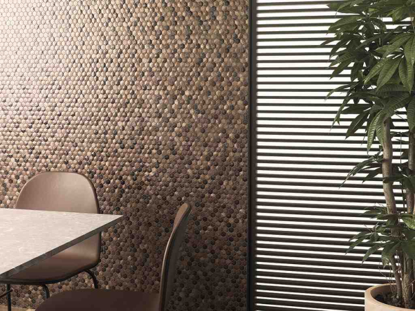 Mosaico Colors Aluminium Chocolate