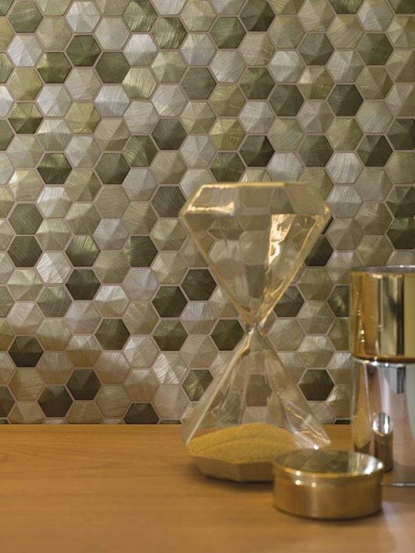 Mosaicos Colors Aluminium Olive