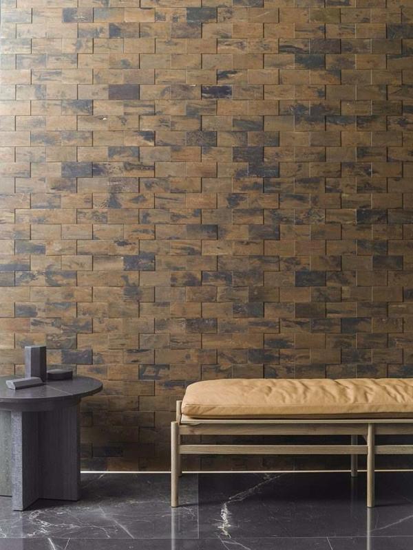 Mosaico Worn Copper – Piedra Natural Habana Dark