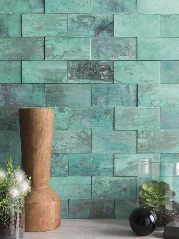 Mosaico Worn Verdigris