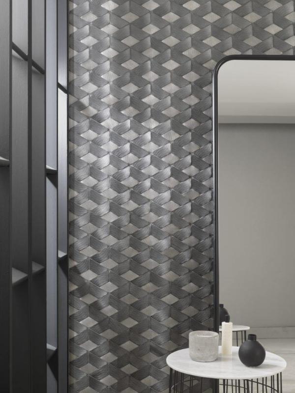 Mosaico Gravity Aluminium Braid Metal Titanium