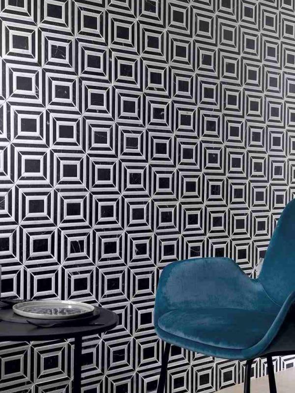 Mosaico Virtual Square Black