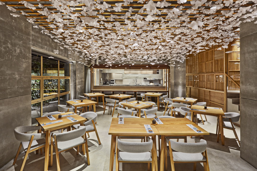 The most beautiful restaurant (made almost completely of wood) is in Valencia