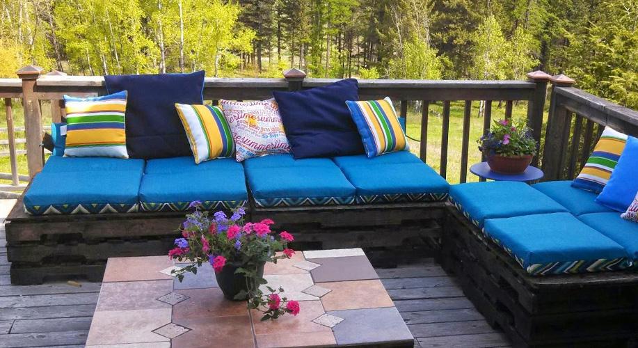 Maderas para jardin silla curva de madera para jardn y for Terrazas easy 2016