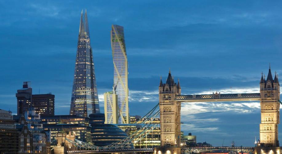 A wooden skyscraper for London