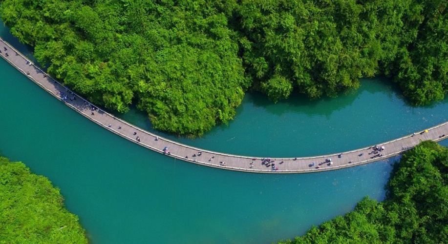 The most beautiful wooden bridge in the world