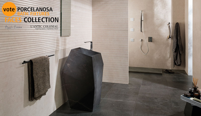 Faces by Ramón Esteve selected by Interior Design for 'Best of Year Awards' 2015