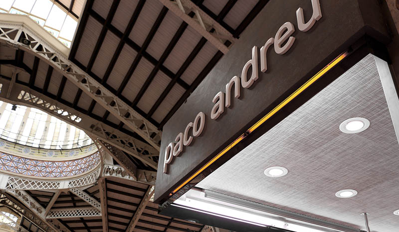 Linkfloor nel Mercat Central di Valencia