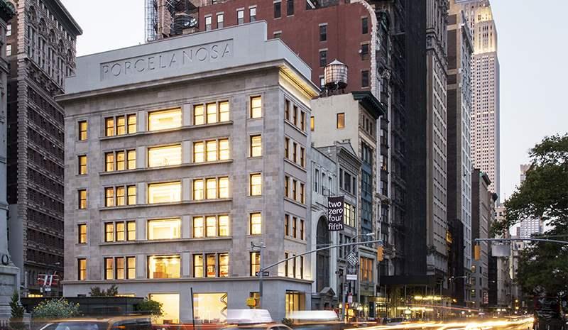 Manhattan empfängt das neue Flagship von Porcelanosa