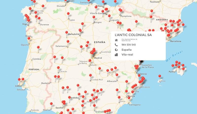 Version 3.0 of L'Antic Colonial's app