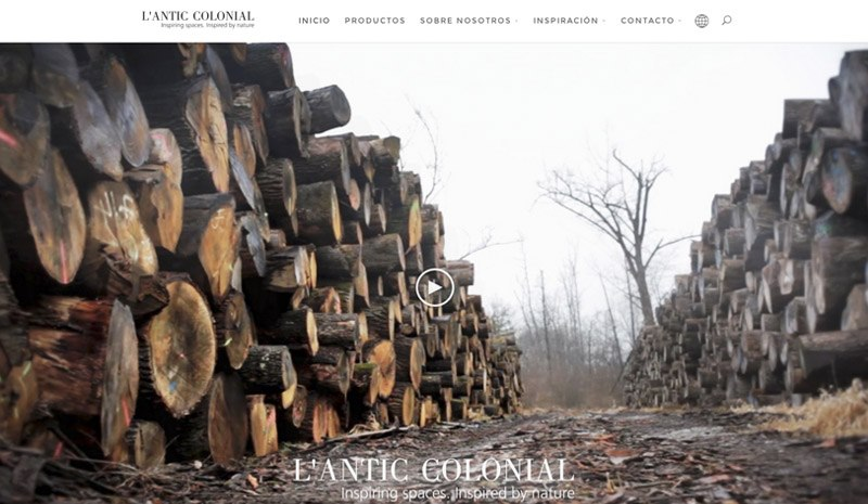 L'Antic Colonial renews its web