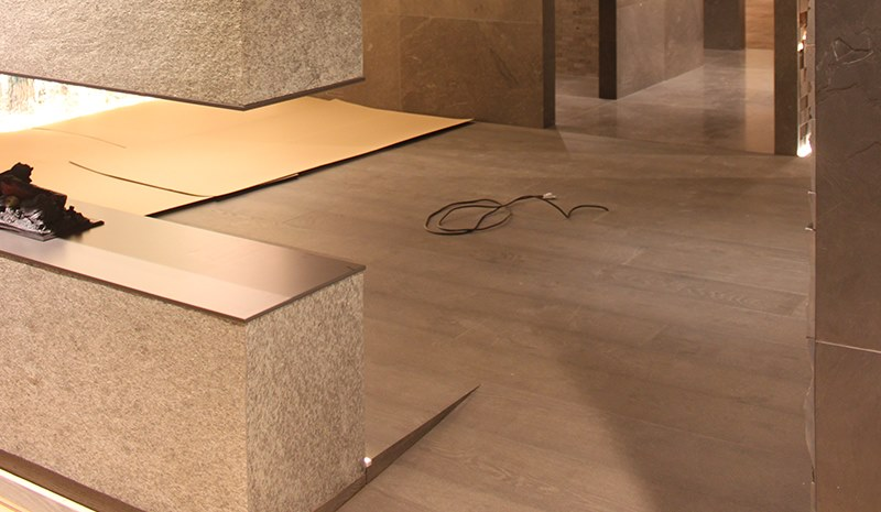 L'Antic Colonial refurbishes its showroom in time for the XXIV International Exhibition to be held at Grupo Porcelanosa