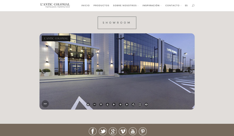 L'Antic Colonial's new virtual showroom