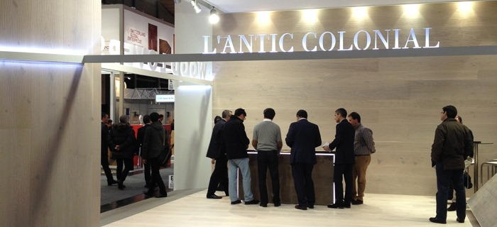 Wood Lovers by L'Antic Colonial is internationally presented at Domotex 2014