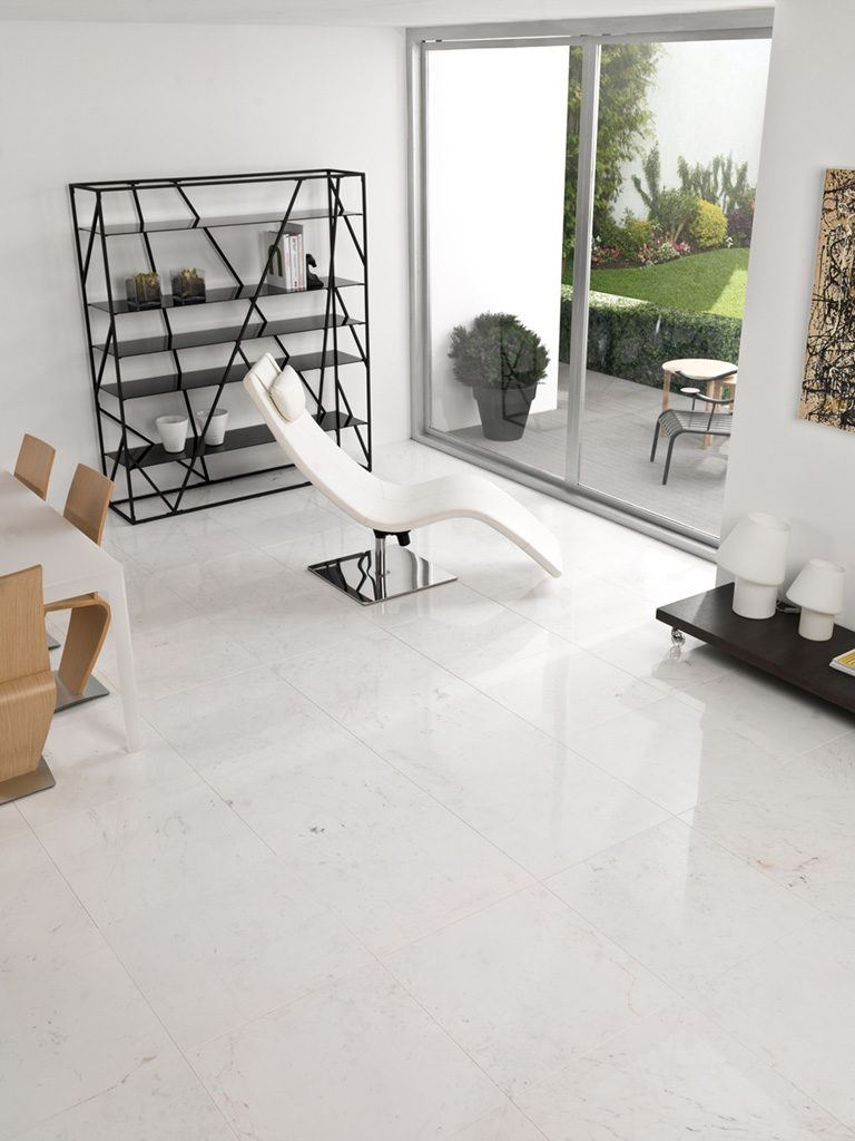 Inspiraci n l 39 antic colonial for Marmol blanco pulido