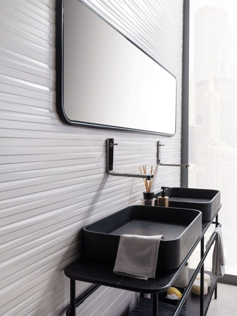 Yonoh studio, finalist of the ADCV awards for the bathroom collection 'Vintage'