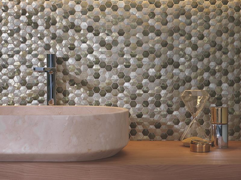 Mosaicos modernos para baño