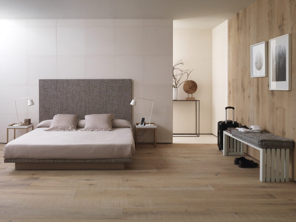 Linkfloor Wall Contract: sophistication and elegance for the bedroom
