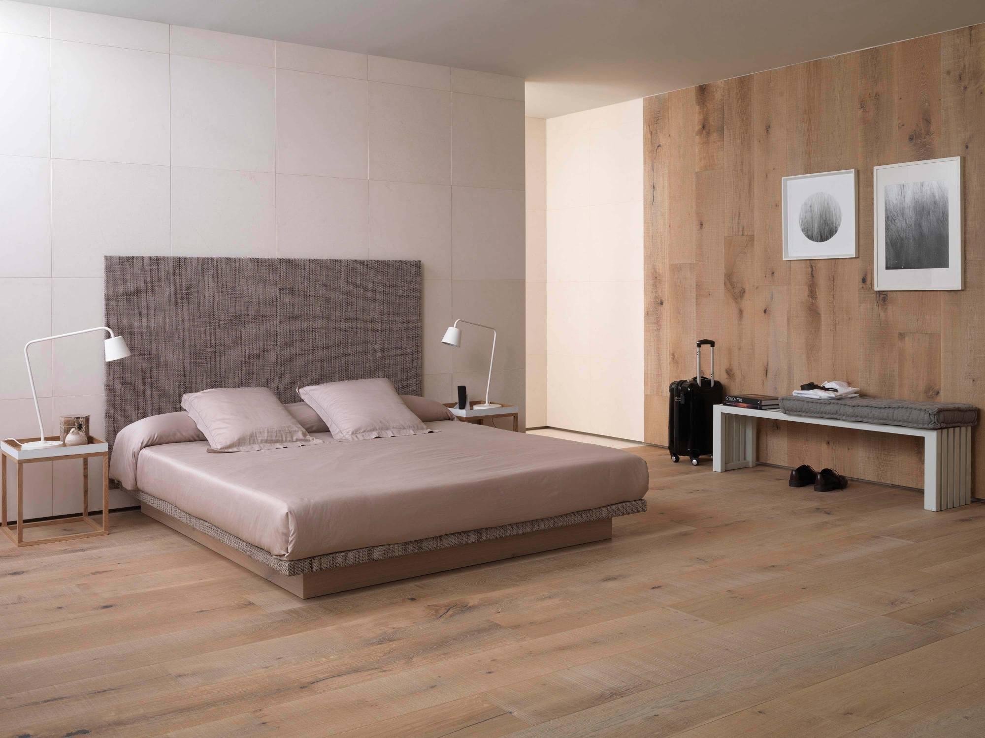 Linkfloor como cabecera de cama