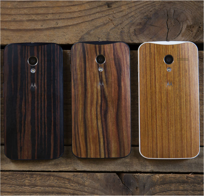 Wood in your mobile devices