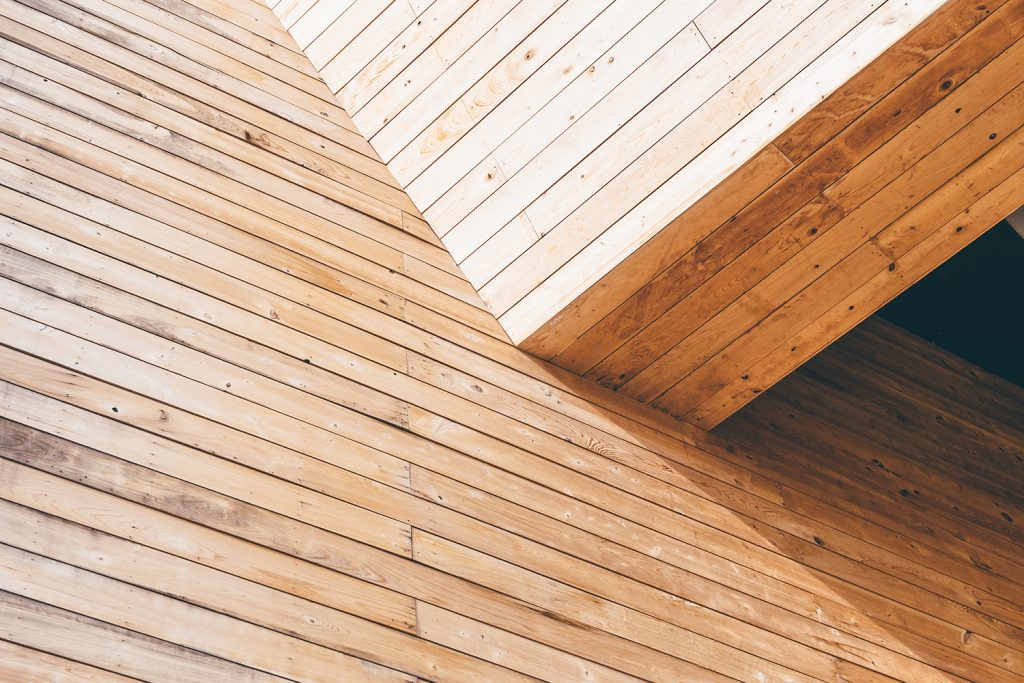 Wood in construction and architecture